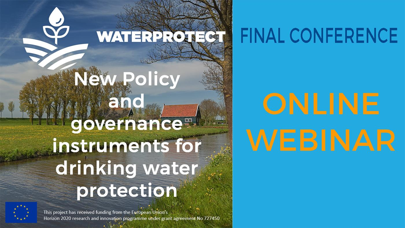 WaterProtect Final Conference Webinar